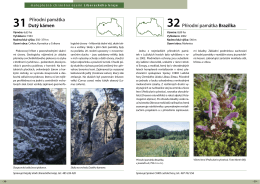 31 Přírodní památka Dutý kámen 32Přírodní památka Brazilka