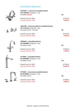 VYPRODEJ NU.xlsx - Jungmann, Keramika & Kámen