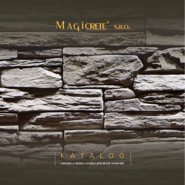 Produktový katalog Kamen