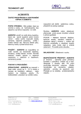 AGROFIX - CAPRO spol. s ro