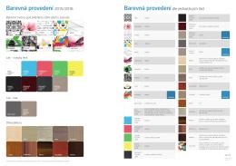Podívejte se na barevná provedení, které v letošní sezoně 2015