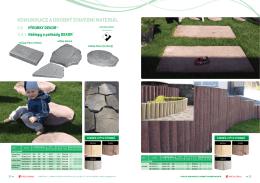 komunikace a drobný stavební materiál 2.6 výrobky dekor