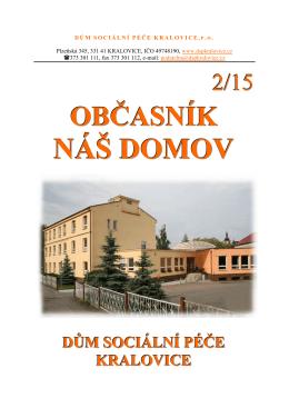NÁŠ DOMOV - DSP Kralovice