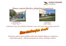 Domov seniorů Havířov, příspěvková organizace
