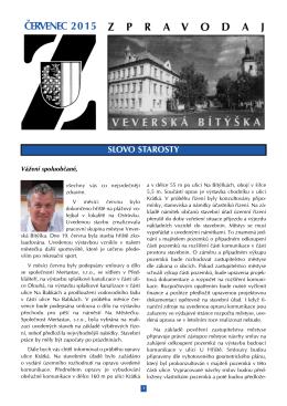 Zpravodaj Mestyse Veverska Bityska 07/2015