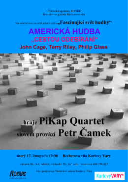 hraje PiKap Quartet