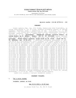 Dražební vyhláška - movité věci_22750 soupis