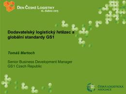 Dodavatelský logistický řetězec a globální standardy GS1