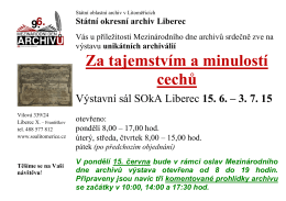 Státní okresní archiv Liberec