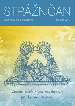 Prosinec 2015 - Kulturní dům Strážničan ve Strážnici