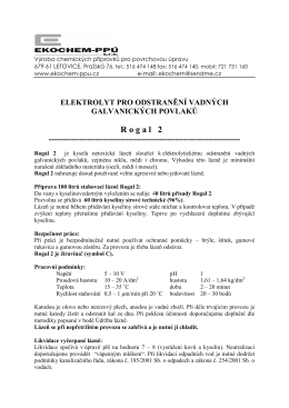 Rogal 2 - Ekochem