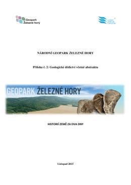 Příloha 2 Geologické dědictví včetně abstraktu