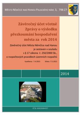 Závěrečný účet včetně Zprávy o výsledku přezkoumání hospodaření