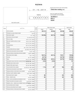 TaxEdit - F - Výkazy včetně CashFlow a Přehledu VK universální