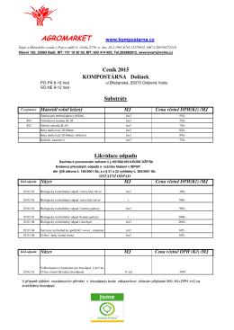 Ceník ve formátu PDF