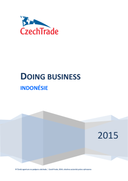 Doing business_Indonesie_2015