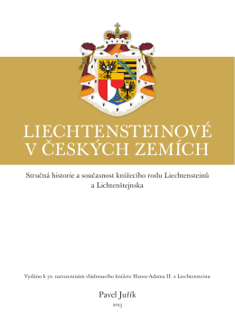 LIECHTENSTEINOVÉ V ČESKÝCH ZEMÍCH