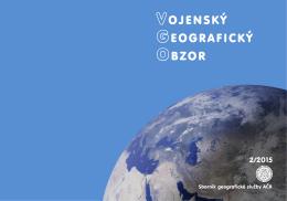 Vojenský geografický obzor 2015/2