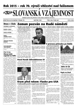 stáhnout - Slovanský výbor ČR