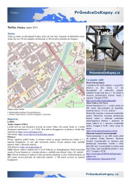 Turku - Průvodce do kapsy