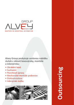 Outsourcing - Alvey Group