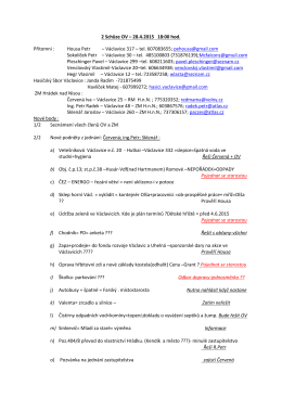17.5 Zápis OV Václavice - 28-04