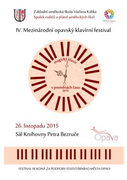 Katalog - ZUŠ Václava Kálika v Opavě