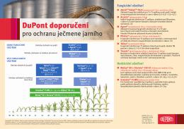 Doporučení pro ochranu ječmene jarního