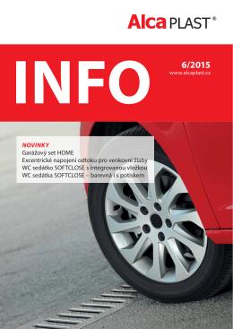 INFO 6/2015 - Alca plast, sro