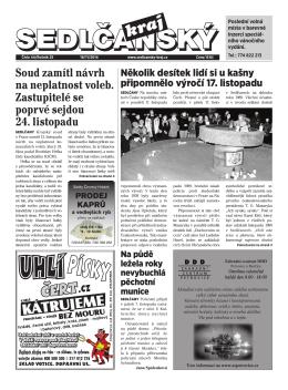 Sedlčanský kraj 44/2014