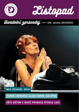 11 2015 - Východočeské divadlo Pardubice