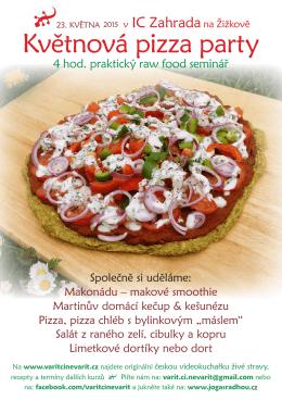 Květnová pizza party
