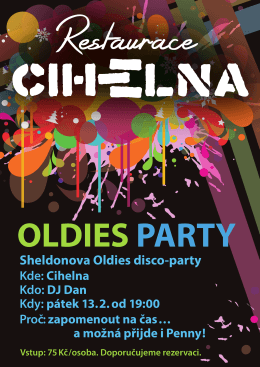 Sheldonova Oldies disco