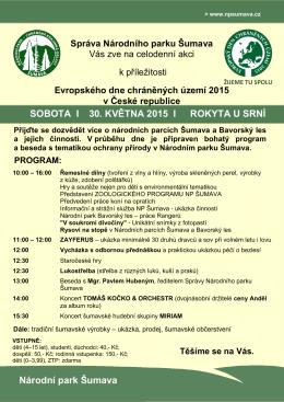 Evropský den chráněných území 2015