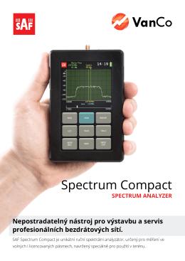 Spectrum Compact - VanCo.net, s.r.o.