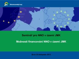 Dotační program - Asociace nestátních neziskových organizací