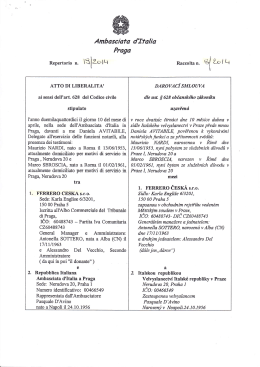 """`"""" lZolLt - Ambasciata d`Italia"""