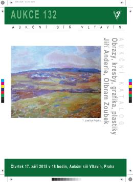 AUKCE 132 - Aukční síň Vltavín