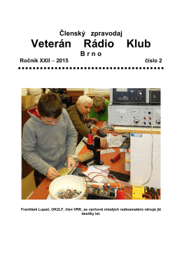 2/2015 - Veterán Radio Klub