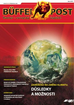zaměřeno na změnu klimatu. důsledky a možnosti