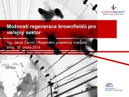 Možnosti regenerace brownfieldů pro veřejný sektor