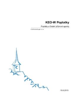 KEO-W Poplatky