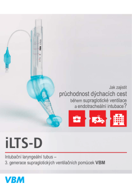 iLTS-D - VBM lékařská technika