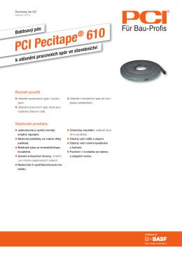 Bobtnavý pás PCI Pecitape ® 610