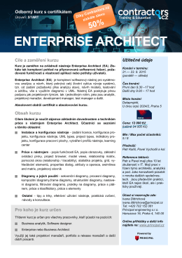 ENTERPRISE ARCHITECT - Principal engineering sro