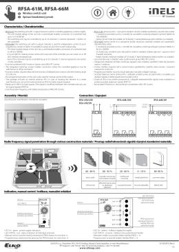 Manual_RFSA-6xM - ELKO EP SLOVAKIA, sro