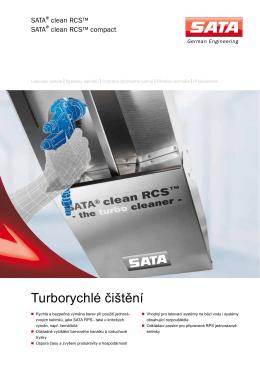 SATA®clean RCS™/ SATA®clean RCS™ compact