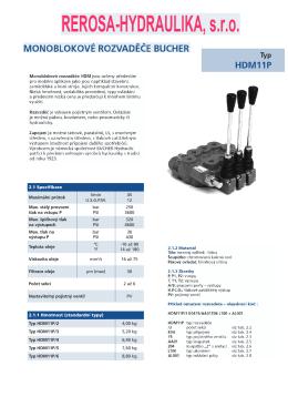 HDM11P - Rerosa
