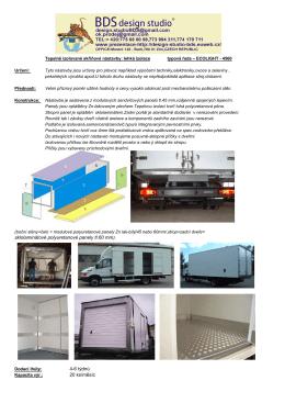 sklolaminátové polyuretanové panely tl.60 mm). 4