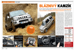 Bláznivý kamzík - Suzuki Jimny 1.3 VVT (Auto7 6/2015)